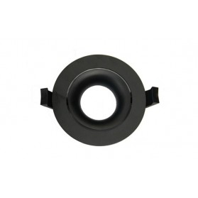 LED Downlight Ring Arc 90mm Black