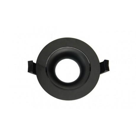 LED Downlight Ring Arc 90mm Black
