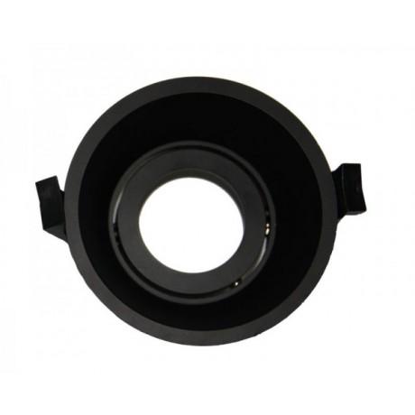 LED Downlight Ring Deep 90mm Black