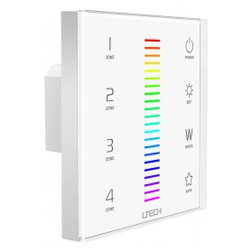 LED Touch Panel RGBW DMX/RF 4 Zones - EX8