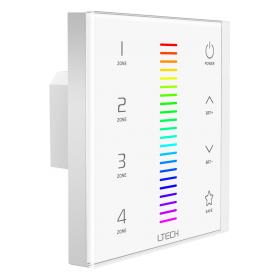 LED Touch Panel RGB DMX/RF 4 Zones - EX7
