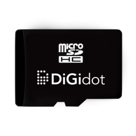 Micro SD card for C4