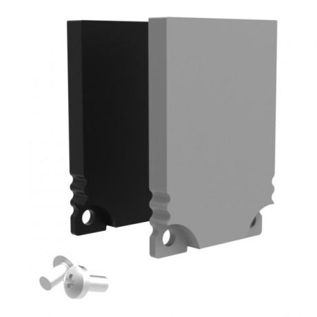 Profile Endcap Low Square