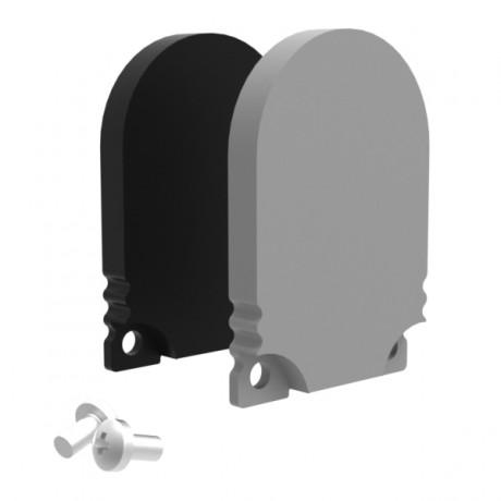 Profile Endcap Low Round