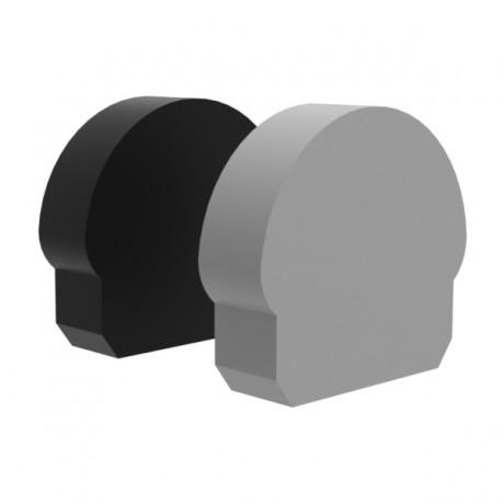 Profile Endcap Half Round