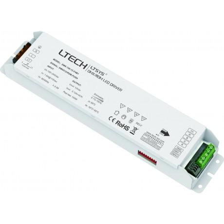 LED Driver DMX 150W 12V 4x3.12A - DMX-150-12-F4M1