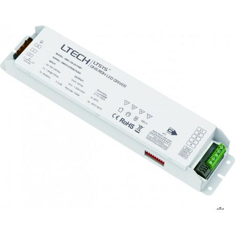 LED Driver DMX 150W 24V 4x1.56A - DMX-150-24-F4M1