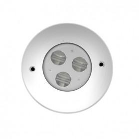 LED Grondspot 3*2W 20*25º 3000K A-Symetrisch