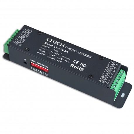 LED Controller DMX 4x5A - LT-854-5A