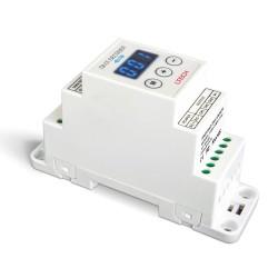LED Controller DMX DIN 4x350mA - DIN-DMX-350-4CH