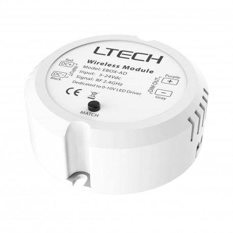 LED Receiver RF 0-10V - EBOX-AD