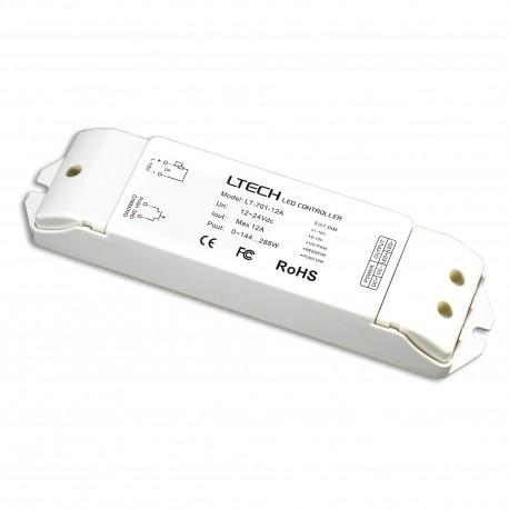 LED Driver 0-10V/Push 1x12A - LT-701-12A