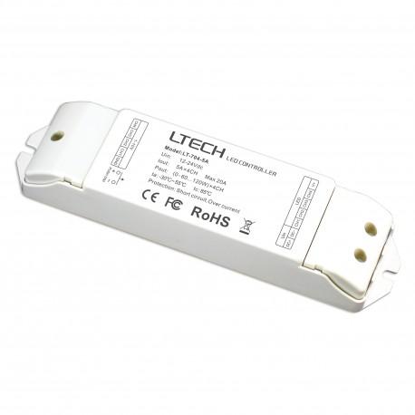 LED Driver 0-10V/Push 4x5A - LT-704-5A