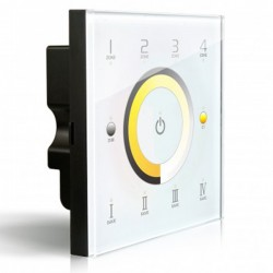 LED Dimmer Touch DIM/CT DMX/RF 4 zones - DX7
