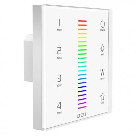 LED Touch Panel RGBW DMX/RF 4 Zones - EX8
