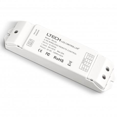 LED Receiver RF 4x5A - R4-5A