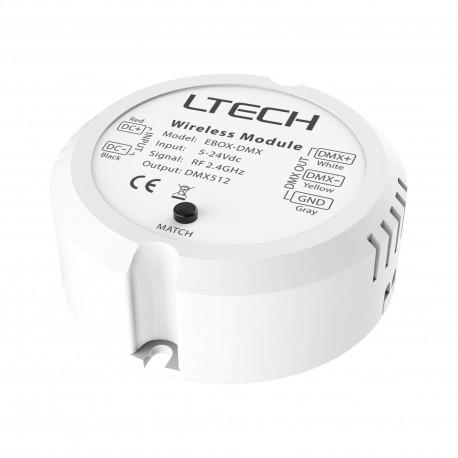 LED Receiver DMX/RF - EBOX-DMX