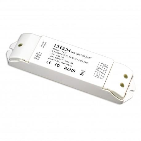 LED Dimmer Receiver RF 3x6A - T3-CV