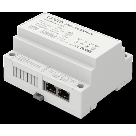 LED Driver DMX 36W 24V DIN-Rail - DMX-36-24-F1D1