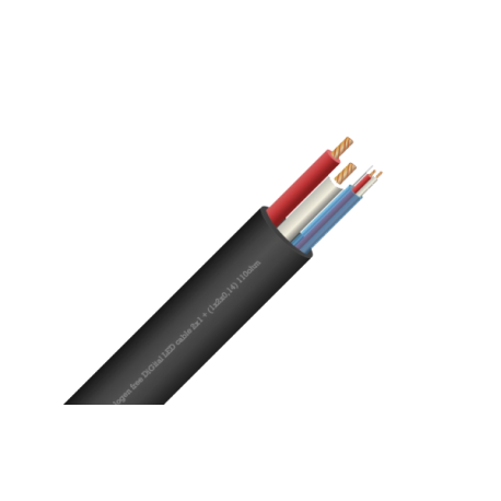 DiGi LED kabel 2x1 + (1x2x0,14) 110 ohm Digital