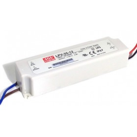 Meanwell PSU LPV 12V 3A 36W IP67 (LPV-35-12)
