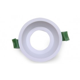 LED Downlight Ring Deep 75mm White