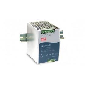 DIN rail PSU 24V 20A 480W (SDR-480P-24)