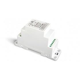 LED Dimmer 0-10V/Push DIN-Rail 1x12A - DIN-711-12A