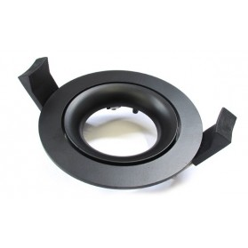 LED Downlight Ring Arc 70mm Black