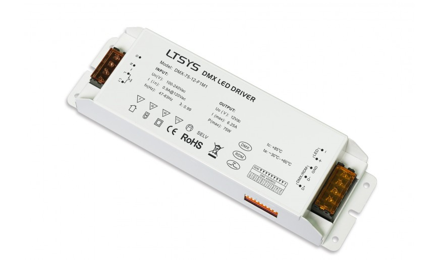 DMX-RDM Dimmable Driver