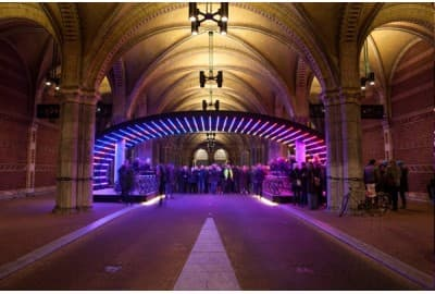 Light art Rijksmuseum