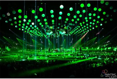 LED bulbs, concert Clouseau