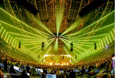 OneEightyOne supplies LED for show Armin van Buuren